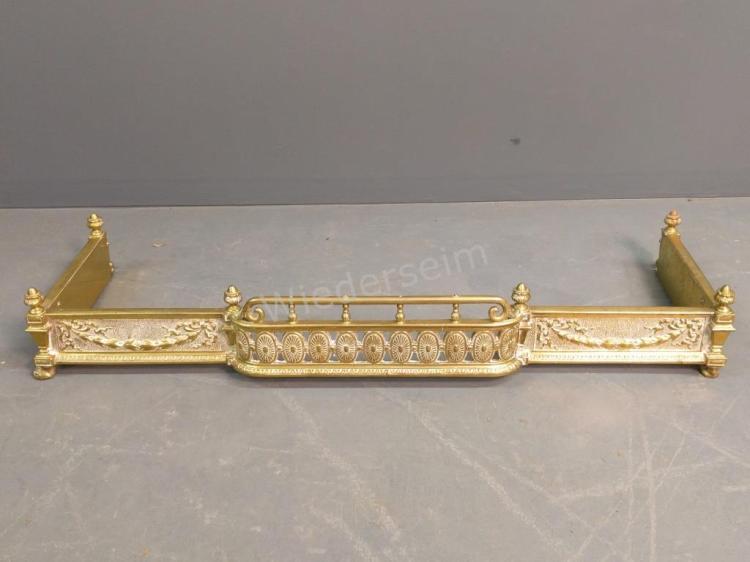 Brass Fire Fender