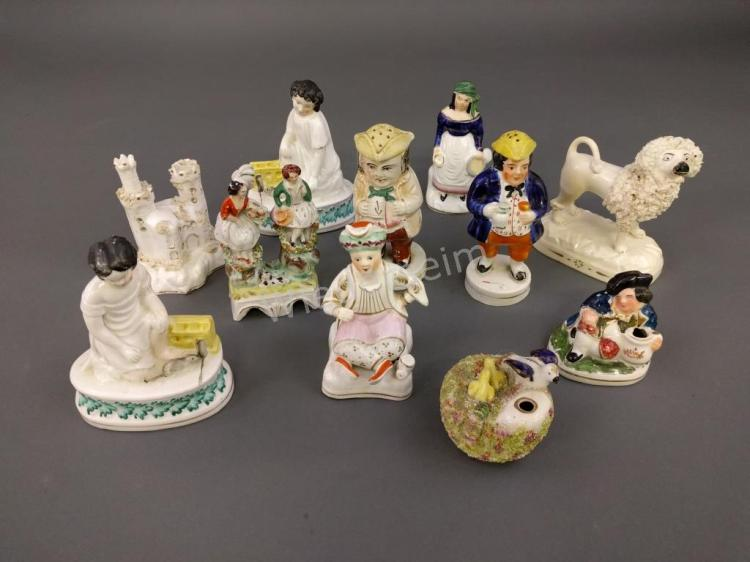 Eleven Pieces of Staffordshire, etc.