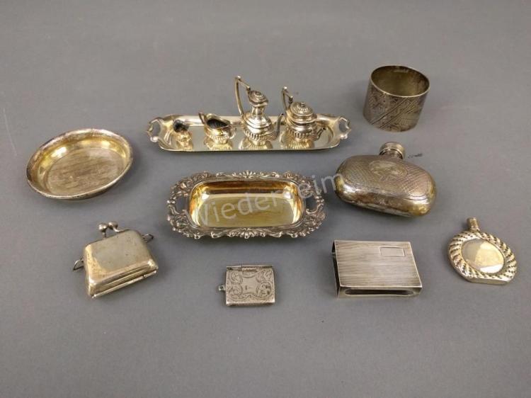 Silver Miniature Tea Service