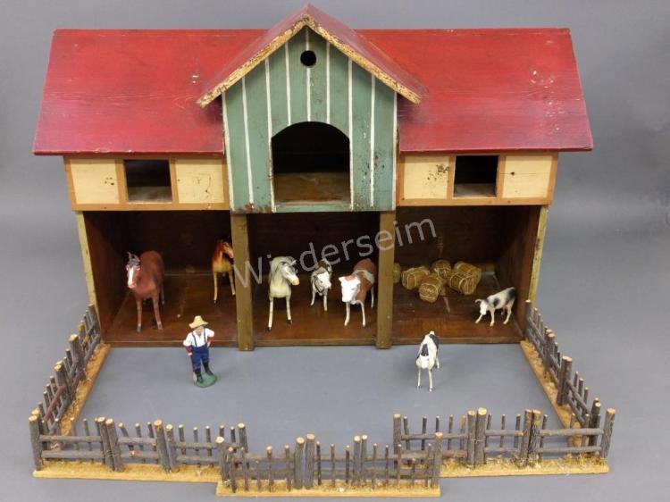 Painted Wood Barn, etc.