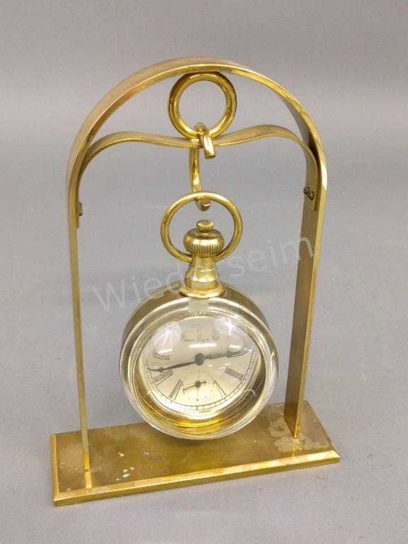 German Glass Ball Clock