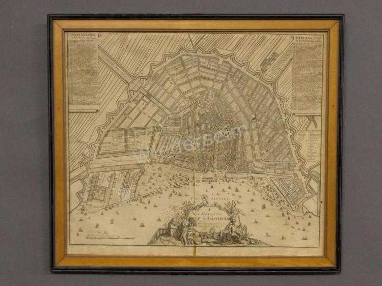 Early Amsterdam Map