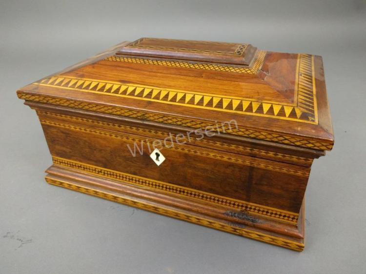 Mahogany Valuables Box