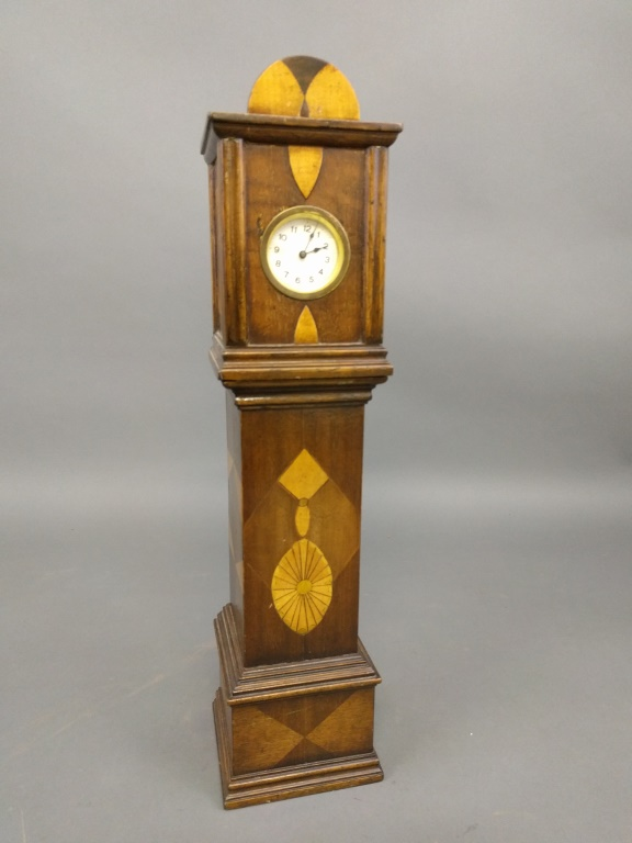 Miniature tall case clock