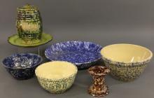 Blue spongeware
