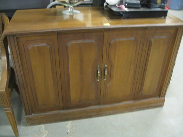 "Mahogany Sewing Cabinet ONLY 20"" X48"" X 30"" T"