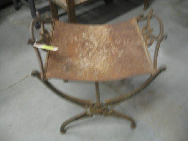 Rusted Iron Chair