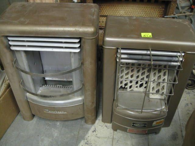 Vintage Dearborn & Atlanta Gas Heaters
