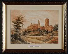 John Louis Petit (1801-1868). Six Various Framed