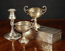 A Collection of Miscellaneous Silver: A silver