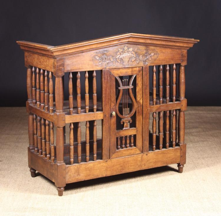 A 19th century french walnut paneti re or food cupboard the for 19th century french cuisine
