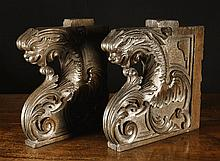 A Pair of Good Early 16th Century Walnut Choir
