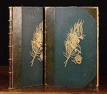 Two Large Volumes of Engravings of the works of