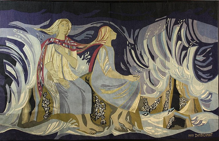 A 20th Century Tapestry by Mary Dambierment,