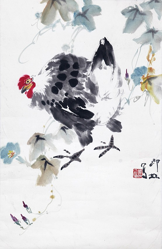 XIAO LANG (ATTRIBUTED TO, 1917 - 2010)