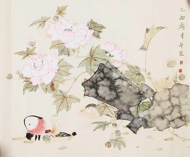 A ZHOU WU SHENG PAINTING, ATTRIBUTED TO