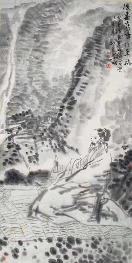 A WU SHAN MING CHINESE PAINTING, ATTRIBUTED TO