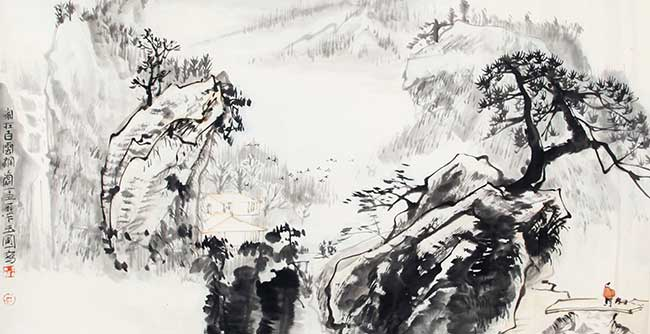 CHEN YU PU CHINESE PAINTING, ATTRIBUTED TO