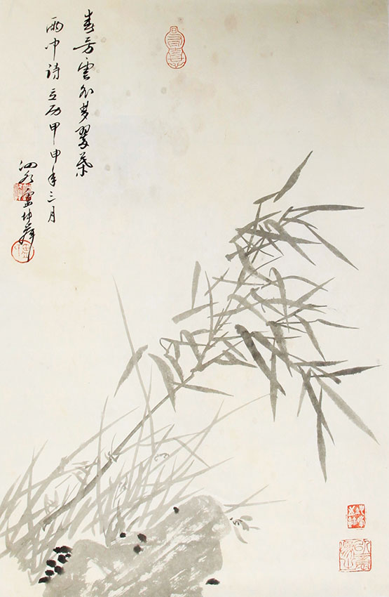 LV KUN FENG CHENG CHINESE PAINTING, ATTRIBUTED TO