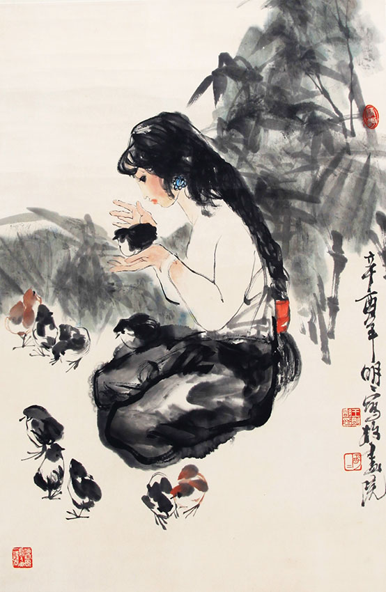 WANG MING MING CHENG PAINTING, ATTRIBUTED TO