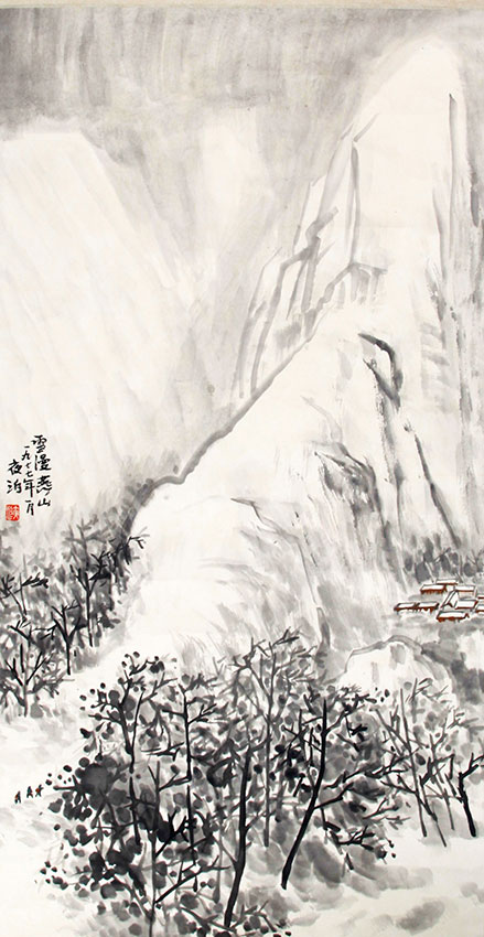 WANG XUE ZHONG CHINESE PAINTING, ATTRIBUTED TO