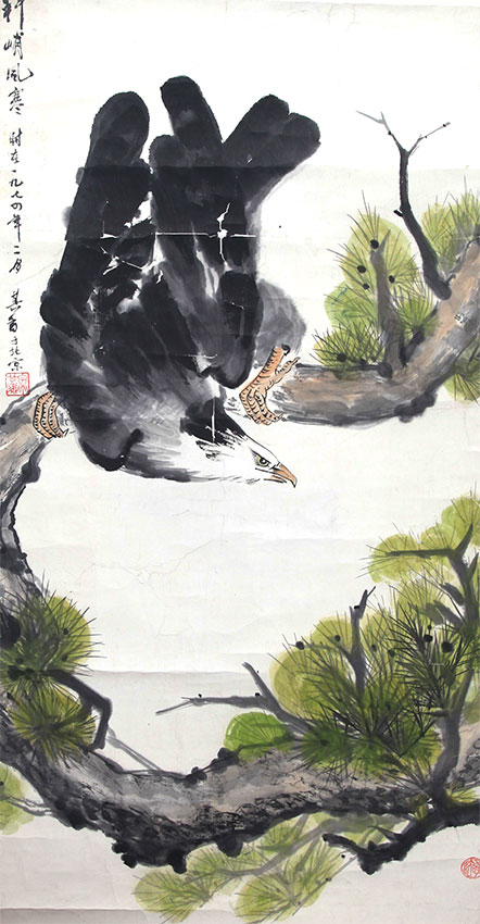 A SONG QI XIANG PAINTING, ATTRIBUTED TO