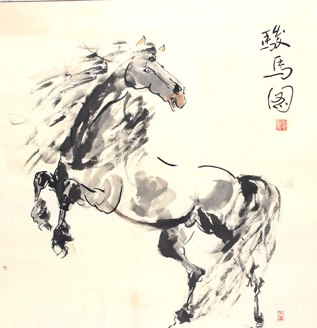 A ZHANG CHUN BAI PAINTING, ATTRIBUTED TO