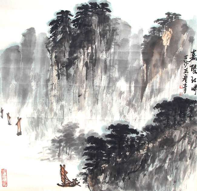 A ZHANG YAN QING PAINTING, ATTRIBUTED TO