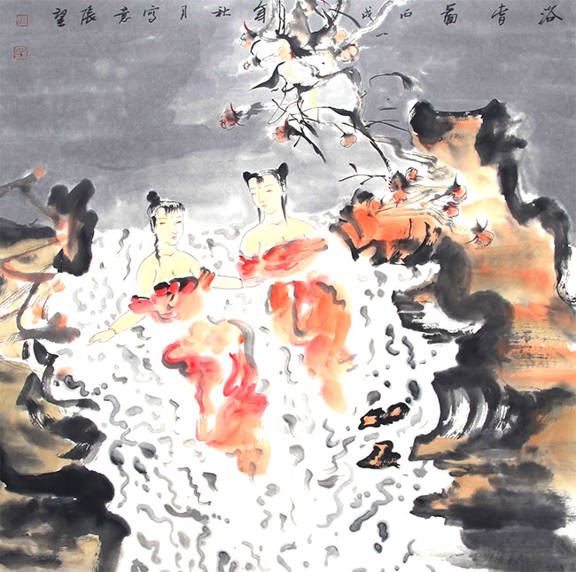 A ZHANG WANG PAINTING, ATTRIBUTED TO