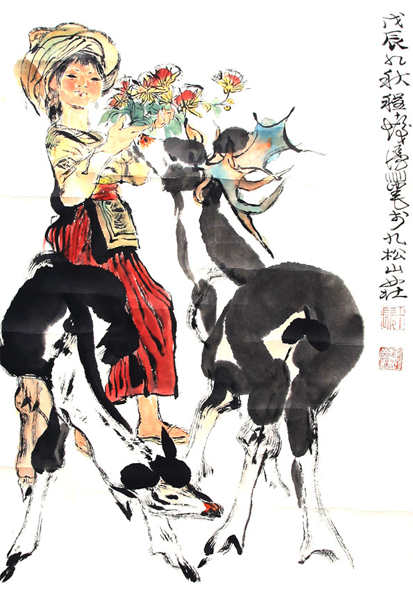 A CHENG SHI FA PAINTING, ATTRIBUTED TO