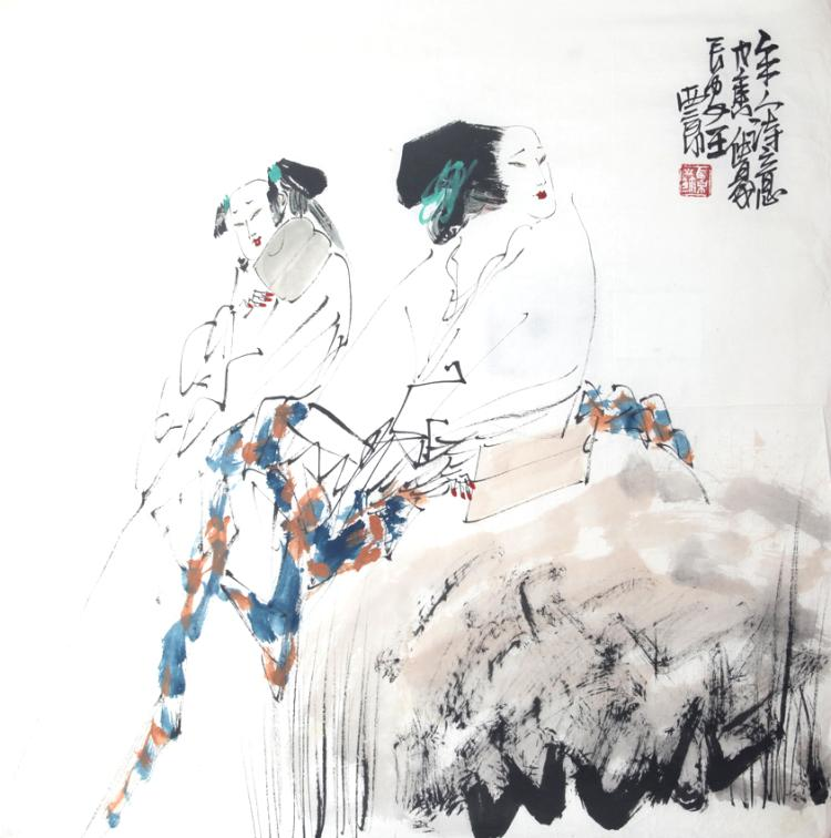 A WANG XI JING PAINTING, ATTRIBUTED TO
