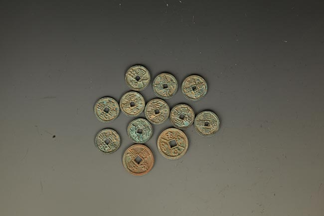 GROUP OF 12 OLD CHINESE COIN