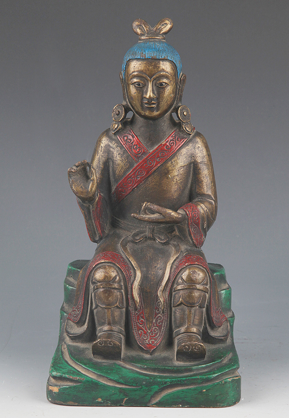 A FINELY MADE BRONZE FIGURE