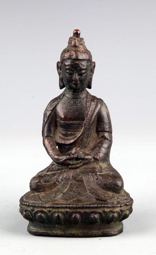 WELL DESIGN BRONZE BUDDHA