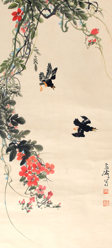 WANG XUE TAO CHINESE PAINTING (ATTRIBUTED TO )