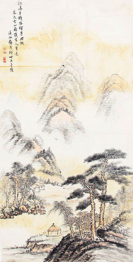 A CHINESE PAINTING ATTRIBUTED TO SU MAO BANG