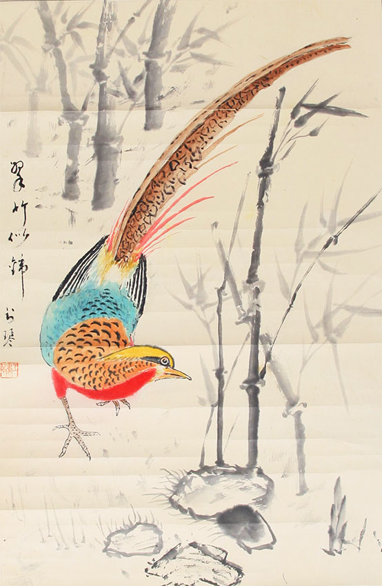 A WANG SHU QIN CHINESE PAINTING, ATTRIBUTED TO