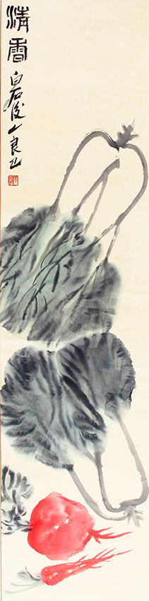 A QI LIANG YI CHINESE PAINTING, ATTRIBUTED TO
