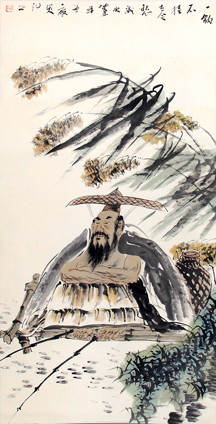 BAI XUE PENG CHINESE PAINTING (ATTRIBUTED TO)