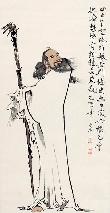 LI SHI PING CHINESE PAINTING (ATTRIBUTED TO)