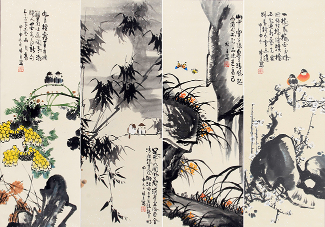 LING YUE CHINESE PAINTING (ATTRIBUTED TO)