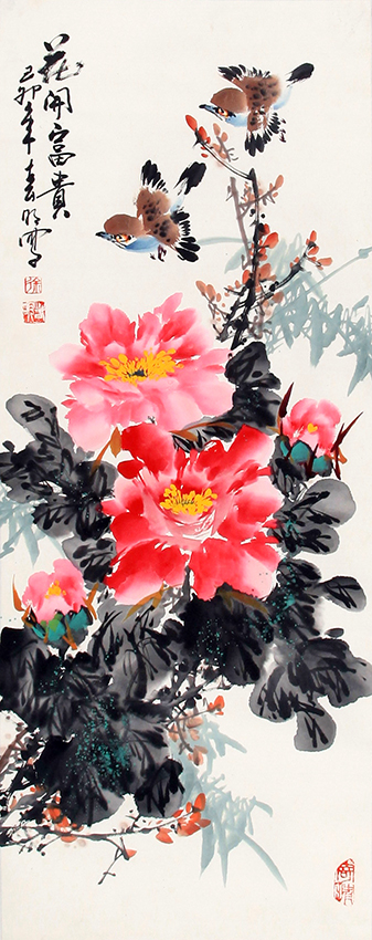 XU CHUN MING CHINESE PAINTING (ATTRIBUTED TO)