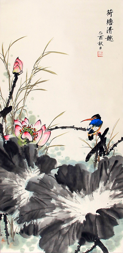 CHEN XIAO WEN CHINESE PAINTING (ATTRIBUTED TO)