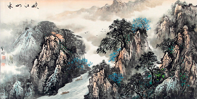 GAO SHENG JUAN CHINESE PAINTING (ATTRIBUTED TO)