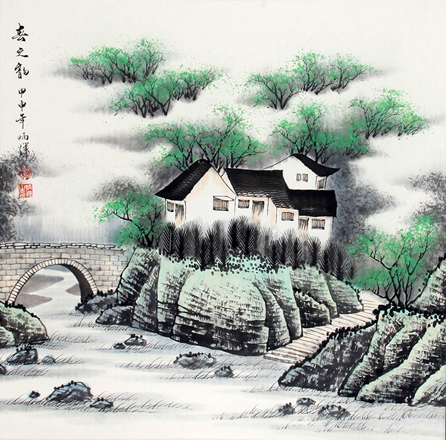 HE BING HUI CHINESE PAINTING (ATTRIBUTED TO)