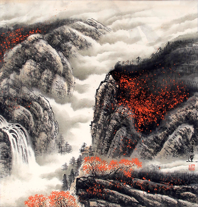 ZU LAI XUAN CHINESE PAINTING (ATTRIBUTED TO)