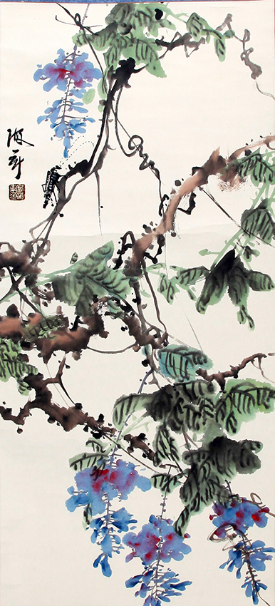 LIU HAI JUN CHINESE PAINTING (ATTRIBUTED TO)