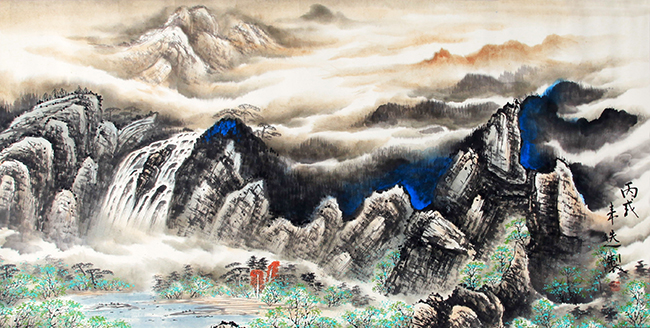 XU LAI XUAN CHINESE PAINTING (ATTRIBUTED TO)