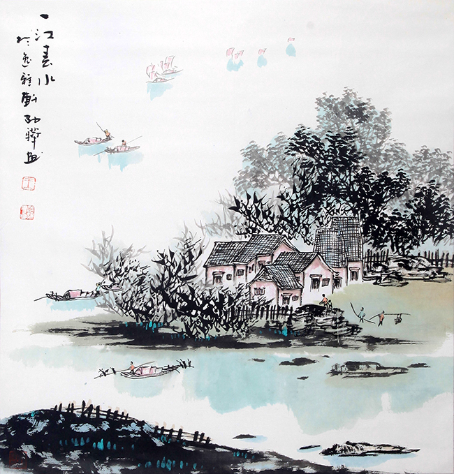 WANG ZHAO HUA CHINESE PAINTING (ATTRIBUTED TO)