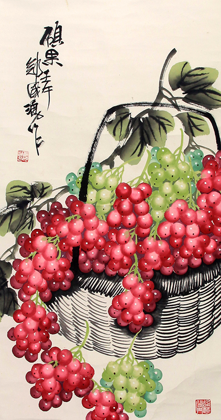 ZHENG GUO YONG CHINESE PAINTING (ATTRIBUTED TO)